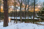 Sunrise on Millers River near Bearsden Conservation Area, Athol, MA