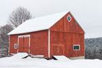 Red Barn after Snowfall, Hartland, VT