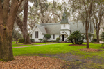View of Historic Christ Church Episcopal and Surrounding Grounds, St. Simons Island, GA