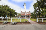 View of St. Simons Island Light Station (Lighthouse and Keepers' Dwelling), St. Simons Island, GA