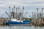 "Fishing Trawler ""Stephanie Bryan"" at Dock in Point Judith, Galilee, RI"