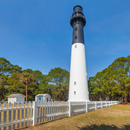 Sunny Day at Hunting Island Lighthouse, Hunting Island State Park, Hunting Island, SC