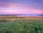 Sunrise over Prairie Pothole at Chase Lake National Wildlife Refuge, Stuttsman County, ND