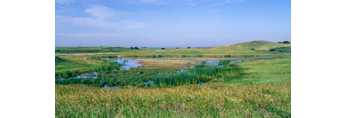 Prairie Pothole near Mud Lake area, Chase Lake National Wildlife Refuge, Stuttsman County, ND