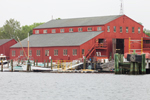 H B duPont Preservation Shipyard at Mystic Seaport: The Museum of America and the Sea, Mystic River, Mystic, CT