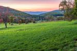 Sunset at High Valley Farm, Taconic Mountains Region, Copake Falls, NY