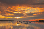 Sunrise over Boats in Southwest Harbor, Mount Desert Island, Southwest Harbor, ME