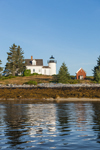Pumpkin Island Lighthouse off Eggemoggin on Little Deer Isle, Deer Isle, ME