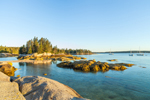 Coot Island in Early Morning Light, Archipelago South of Stonington, ME