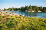 View of Davids Island, Seal Bay, Vinalhaven, ME