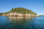 View of Bluff Head Island from East Penobscot Bay, Vinalhaven, ME
