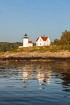 Curtis Island Lighthouse in Early Morning, West Penobscot Bay, Camden, ME