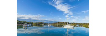 Calm Waters in Hadley Harbor, Naushon and Bull Islands, Elizabeth Islands, Gosnold, MA