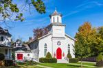 Lakeville United Methodist Church in Autumn, Litchfield County, Lakeville, CT