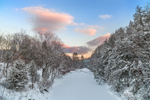 Williams River after Snowstorm, Rockingham, VT