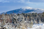 Mount Monadnock after Fresh Snowfall, View from Fitzwilliam, NH