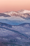 Mount Washington and White Mountains at Sunrise, White Mountain National Forest, View from Jackson, NH