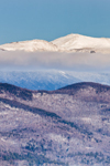 Mount Washington and White Mountains in Early Morning, White Mountain National Forest, View from Jackson, NH