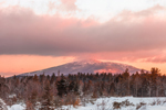 Mount Monadnock at Sunrise after Fresh Snowfall, View from Fitzwilliam, NH