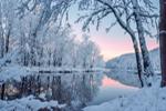 Tully River at Predawn after Heavy Snowfall, Royalston, MA