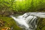 Waterfalls on Brewer Brook at Bascom Hill Farm, Westhampton, MA
