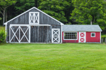Wooden Barn on Bascom Hill Farm, Westhampton, MA