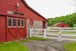 Red Barns and White Wooden Fences, Chester, CT