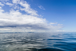 White Clouds Reflecting in Glassy Waters of West Penobscot Bay, ME
