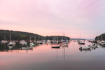 Boats in Calm Waters of Northeast Harbor at Sunrise, Northeast Harbor, Mount Desert, ME