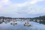 Boats in Early Morning Calm in Northeast Harbor, Mount Desert, ME