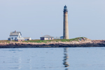 Petit Manan Lighthouse with Reflection, Built 1855, Gulf of Maine, Petit Manan Island, ME