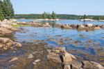 View from Buckle Island out to Duck Islands, Swans Island, ME