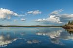 Clouds Reflecting in Western Bay near Bartlett Island, Mount Desert, ME