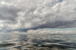 Dramatic Clouds over Atlantic Ocean South of Potts Harbor, Casco Bay Region, Harpswell, ME