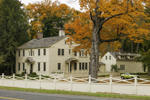 Old Colonial Home in Fall, Village of Lakeville, Salisbury, CT