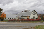 Big Gambrel-style Barn in Autumn, Sharon, CT