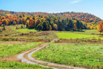 Rural Farmland in Early Fall, Pawlet, VT