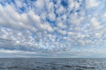 Cloud Formations over Cape Cod Bay, Cape Cod, MA