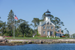 Morgan Point Lighthouse, Fishers Island Sound, Noank, Groton, CT