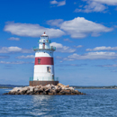 Latimer Reef Light, Fishers Island Sound, Suffolk County, Southold, NY