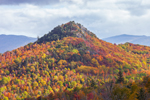 Colorful Foliage on Owls Head Mountain, Adirondack Park, Keene, NY