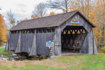 Millbrook Bridge (aka Grant Mills Bridge) Covered Bridge, Built 1902, Catskill Mountains, Catskill Park, Hardenburgh, NY
