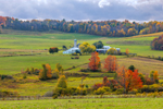 Rural Farm in Fall, Steuben County, Jasper, NY
