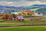 Farms, Fields, and Rolling Hills, Steuben County, Jasper, NY