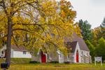 St. Thomas Episcopal Church in Autumn, Village of Amenia Union, Amenia, NY