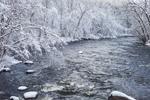 Ashuelot River after Heavy Snowfall, Village of Ashuelot, Winchester, NH