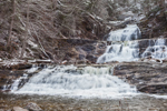 Kent Falls on Kent Falls Brook in Winter, Kent Falls State Park, Kent, CT