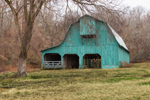 Green Wooden Barn, St. Francis County, near Forrest City, AR