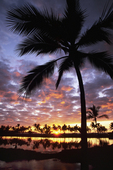 ANAEHO'OMALU SUNSET & CLOUDS, WAIKOLOA, BIG ISLAND, HAWAII