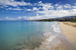 Hapuna Beach Park & surf, Big Island, Hawaii